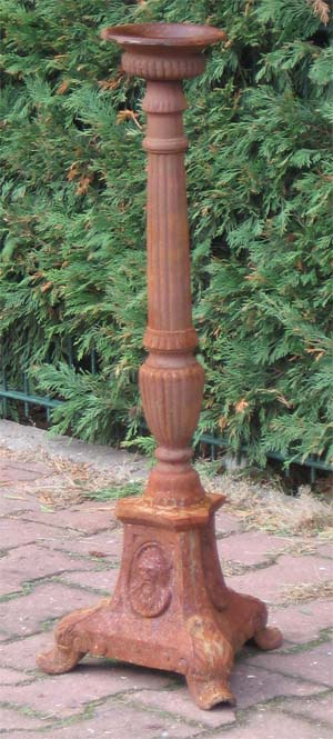 Kerzenleuchter 70 cm antik rost auf garten passion for Rost artikel