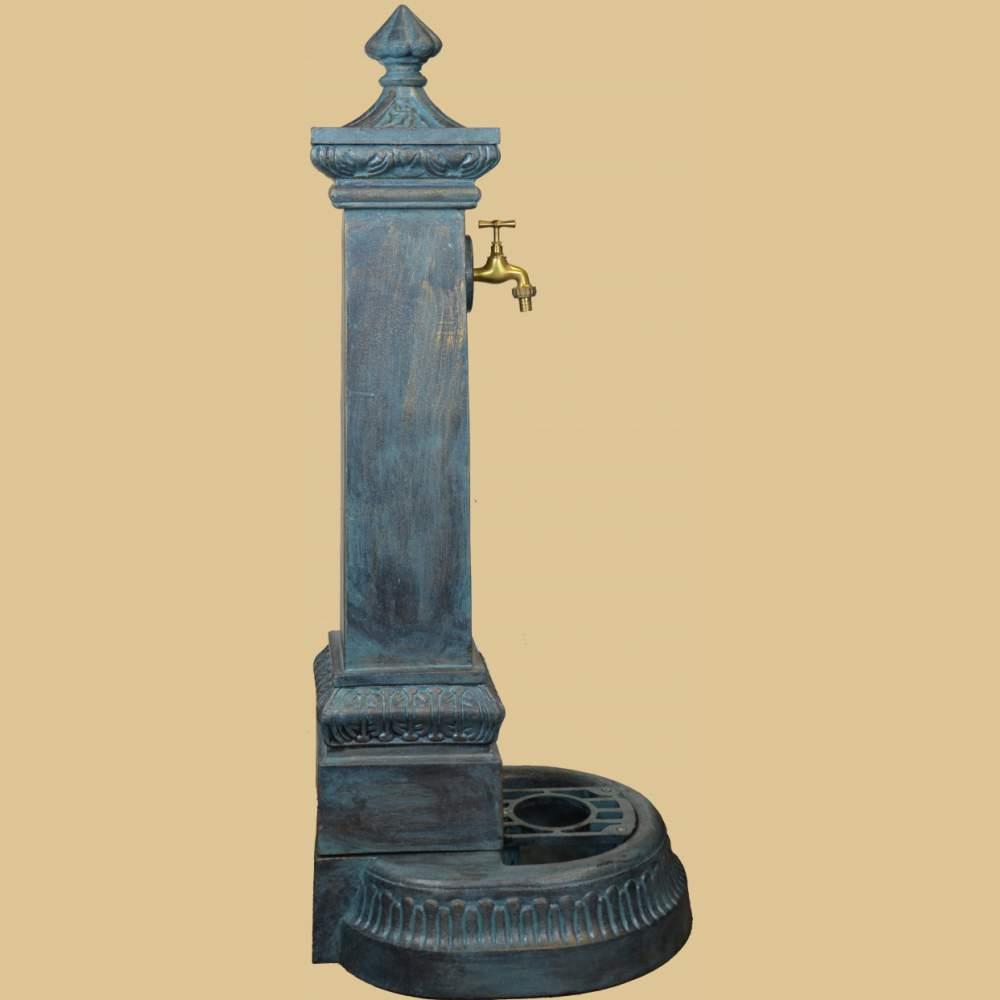 standbrunnen mit wasserhahn 114cm garten passion. Black Bedroom Furniture Sets. Home Design Ideas
