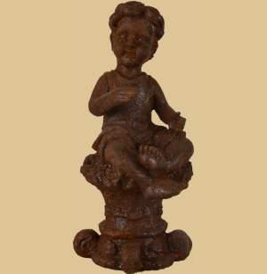 Gartendeko rost gartendeko aus metall in rost garten for Figuren aus rost